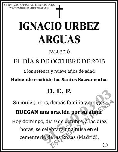 Ignacio Urbez Arguas
